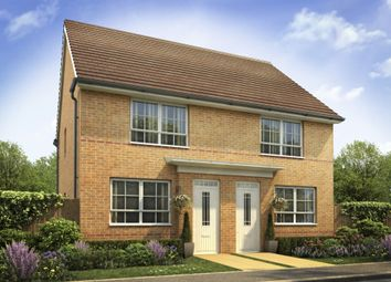 "Thumbnail 2 bed semi-detached house for sale in ""Kendal"" at Lantern Lane, East Leake, Loughborough"