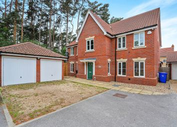 Thumbnail 5 bedroom detached house for sale in Heathland Way, Mildenhall, Bury St. Edmunds