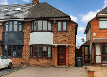 Thumbnail 3 bed semi-detached house for sale in Fowey Road, Hodge Hill