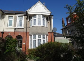 Thumbnail 4 bed semi-detached house for sale in Bridgend Road, Newton, Porthcawl