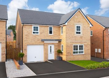 "Thumbnail 4 bedroom detached house for sale in ""Halton"" at Livingstone Road, Corby"