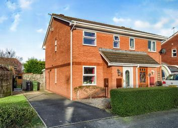 Thumbnail 2 bedroom semi-detached house for sale in Columbine Grove, Evesham, Worcestershire