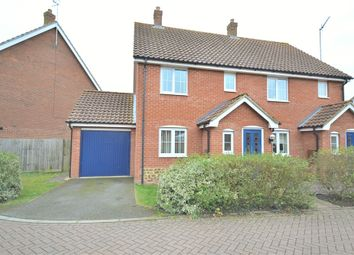 Thumbnail 2 bed semi-detached house to rent in Wootton Road, South Wootton, King's Lynn