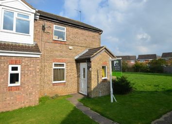 Thumbnail 3 bed end terrace house for sale in Bracken Drive, Rugby