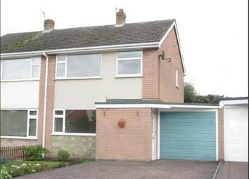 Thumbnail 3 bed semi-detached house to rent in Grampian Close, Muxton, Telford, Shropshire