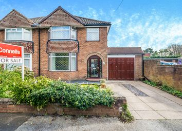 Thumbnail 3 bedroom semi-detached house for sale in Westway, Pelsall, Walsall
