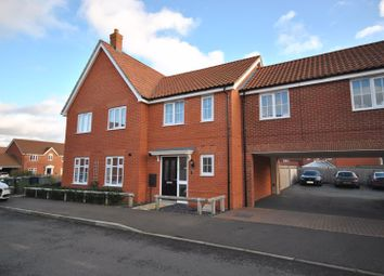 Thumbnail 2 bed terraced house for sale in Mallard Way, Sprowston, Norwich