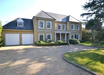 Thumbnail 5 bed detached house for sale in Onslow Road, Burwood Park, Hersham, Walton-On-Thames