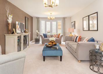 """Thumbnail 5 bed detached house for sale in """"Marlowe"""" at Marsh Lane, Leonard Stanley, Stonehouse"""