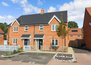 Thumbnail 3 bed semi-detached house for sale in Delamere Gardens, Fair Oak, Eastleigh