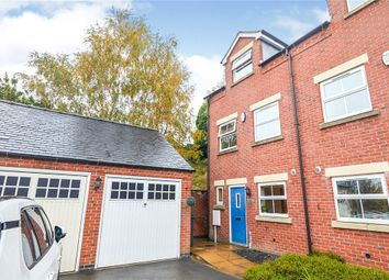 Thumbnail 3 bed town house for sale in Peak Close, Belper