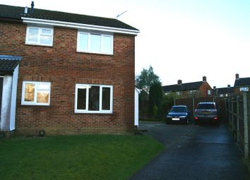 Thumbnail 1 bedroom terraced house to rent in Mortimer Gardens, Tadley
