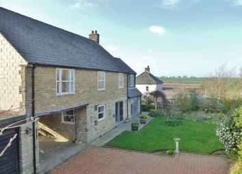 Thumbnail 5 bedroom detached house for sale in Middle Street, Wing, Oakham