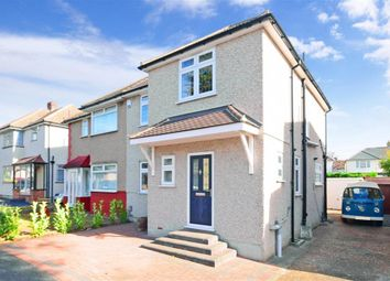 Thumbnail 3 bed semi-detached house for sale in Fernbank Avenue, Hornchurch, Essex