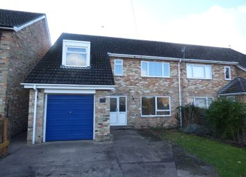 Thumbnail 4 bedroom semi-detached house to rent in Carter Street, Fordham, Ely