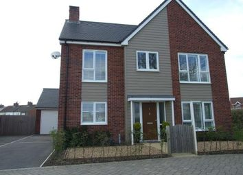 Thumbnail 4 bed detached house for sale in Larch Drive, Coalville