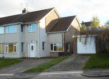 Thumbnail 4 bedroom semi-detached house for sale in Dochdwy Road, Llandough, Penarth