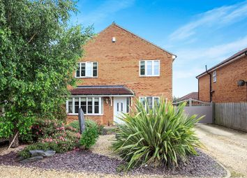 Thumbnail 4 bed detached house for sale in St Vincents Close, Deeping St. James, Peterborough