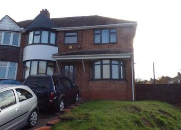 Thumbnail 6 bed semi-detached house for sale in Lindsworth Road, Kings Norton, Birmingham, West Midlands