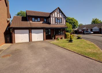 4 bed detached house for sale in The Paddocks, Bulkington, Bedworth CV12