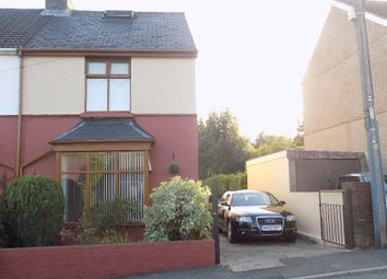 Thumbnail 2 bed semi-detached house for sale in Ty Bryn Hill, Abertillery