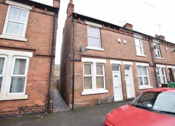 Thumbnail 2 bedroom terraced house for sale in Warwick Street, Nottingham