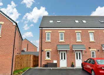 3 bed end terrace house for sale in Ffordd Cadfan, Brackla, Bridgend. CF31