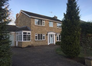 Thumbnail 4 bed detached house to rent in Woodlands, Escrick, York