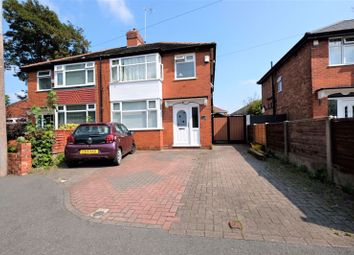Thumbnail 3 bed semi-detached house for sale in Colborne Avenue, Eccles, Manchester