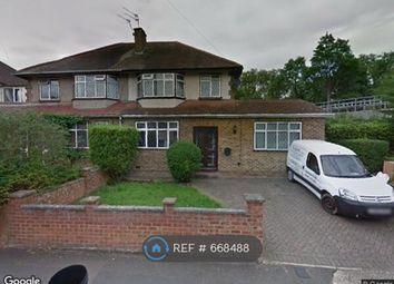 Thumbnail 5 bedroom semi-detached house to rent in North Way, Uxbridge