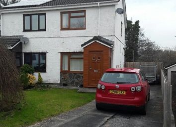 Thumbnail 2 bedroom semi-detached house to rent in Hendre Park, Llangennech, Llanelli
