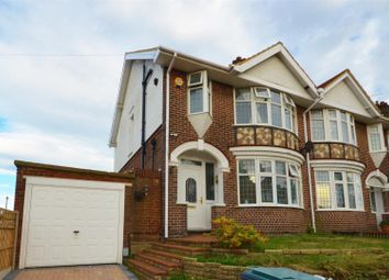 Thumbnail 6 bed semi-detached house for sale in Stockingstone Road, Luton