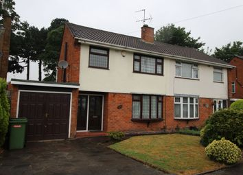Thumbnail 3 bed semi-detached house to rent in Cricket Meadow, Wolverhampton