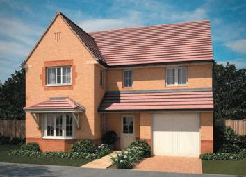 "Thumbnail 4 bed detached house for sale in ""Halesowen"" at Aintree Road, Corby"