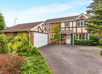 Thumbnail 4 bedroom detached house for sale in Thorntree Close, Ravenstone, Coalville