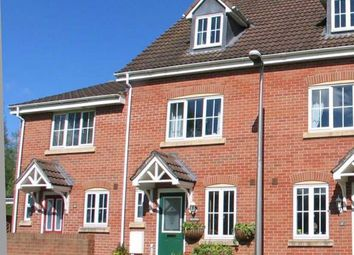 Thumbnail 3 bed terraced house to rent in Waylands Road, Tiverton