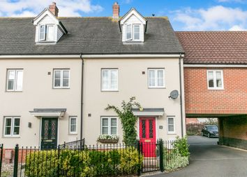 Thumbnail 3 bed town house for sale in Turing Court, Kesgrave, Ipswich