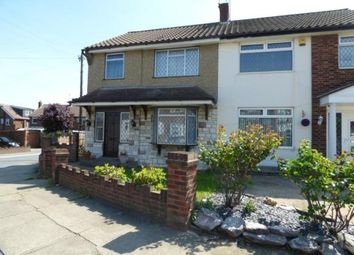 Thumbnail 3 bed semi-detached house for sale in Oakwood Close, Benfleet