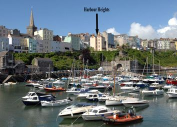 Thumbnail 5 bed end terrace house for sale in Harbour Heights, Crackwell Street, Tenby