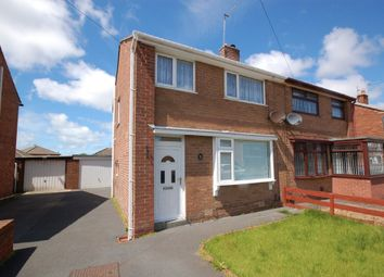 Thumbnail 3 bedroom semi-detached house to rent in Meanwood Avenue, Blackpool