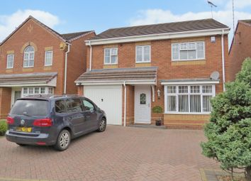 Thumbnail 4 bed detached house for sale in Bardley Drive, Daimler Green, Coventry