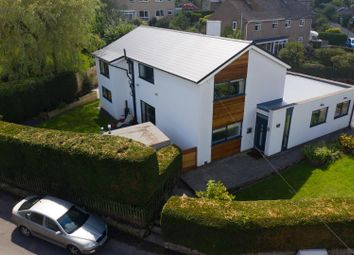 Thumbnail 4 bed detached house for sale in Holt Lane, Lea, Matlock, Derbyshire