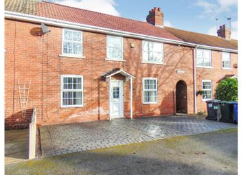 Thumbnail 3 bed terraced house for sale in Kirk Standall, Doncaster
