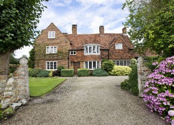 Thumbnail 5 bed detached house for sale in Benner Lane, West End, Woking