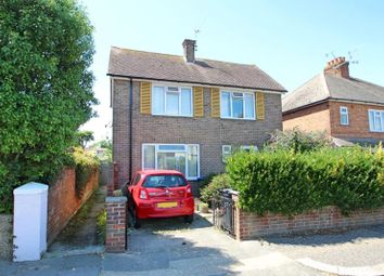 Thumbnail 3 bed detached house for sale in Sugden Road, Worthing, West Sussex