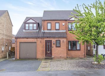 Thumbnail 4 bed detached house for sale in Summerfield Drive, Brotherton, Knottingley, West Yorkshire