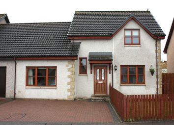 Thumbnail 4 bedroom semi-detached house for sale in Bain Road, Elgin