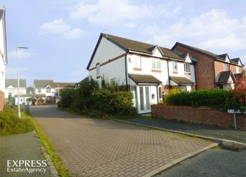 Thumbnail 3 bed end terrace house for sale in Davenham Way, Middlewich, Cheshire