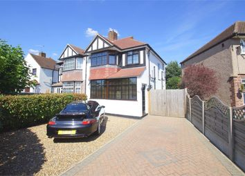 Thumbnail 3 bed semi-detached house for sale in Norfolk Crescent, Sidcup, Kent