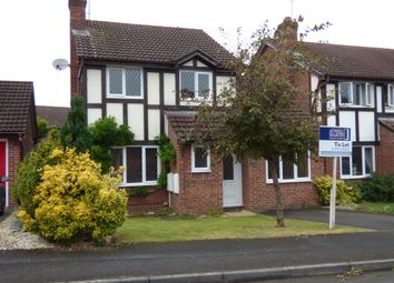 Thumbnail 3 bedroom detached house to rent in Saddleback Road, Shaw, Swindon